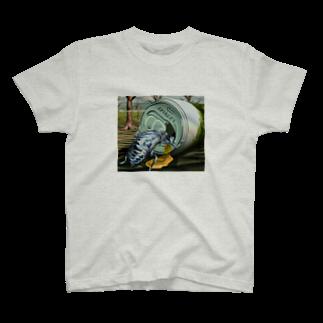 X〜O Labの誰のせいでこうなった!? T-shirts