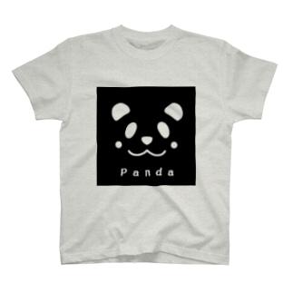 パンダの真実の色 T-shirts