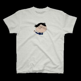 ハネギ リツコのねぐせ課長 T-shirts