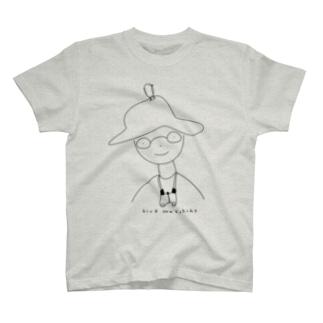 バードウォッチングボーイ T-shirts