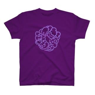 シンプルわんこ Tシャツ