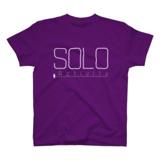 SOLO Activity [White] Tシャツ
