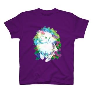 Cat & Razberry Tシャツ