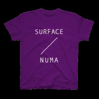 2753GRAPHICSのSURFACE TEE(NUMA WHITE) Tシャツ