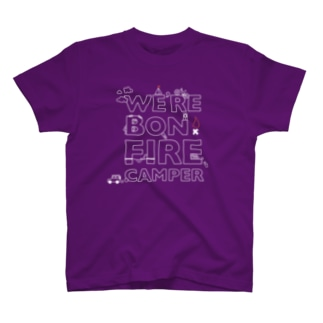 We're Bonfire Camper(W) Tシャツ