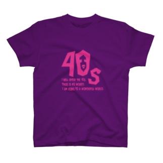 40代アラフォーアイテム Tシャツ