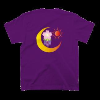 chanomaの桜月日藤 T-shirts