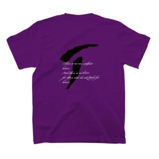ぷれさんず信条Tシャツ(紫) T-Shirt