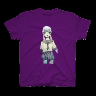 蜂蜜さんのせーらーふく T-shirts