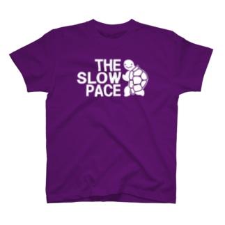 THE SLOW PACE ザ・スローペース カメ 2018夏モデル T-shirts