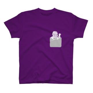 いちよんごのべんじょみいら(ポッケ) T-shirts
