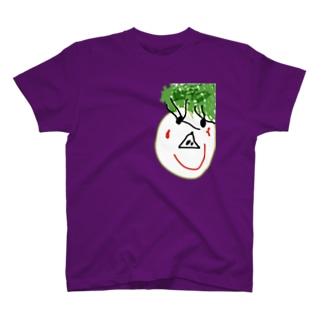 パセリヘアのパパ T-shirts