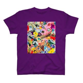 招キッチュ猫 T-shirts