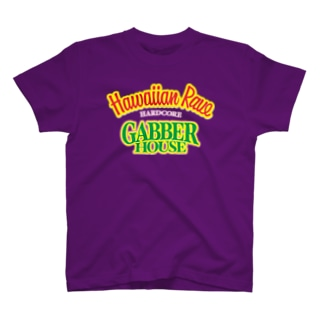 HAWAIIAN RAVE GABBER HOUSE T-shirts