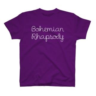 Bohemian Rhapsody WHITE T-shirts