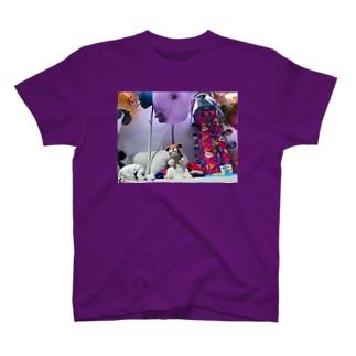 エア前倣え T-shirts