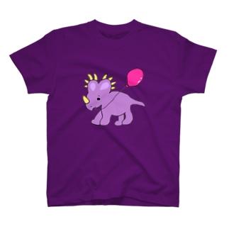 スティラコサウルスのラベンダー。 T-shirts
