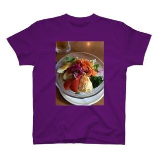 サラダラダ T-shirts