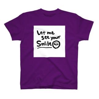 笑顔を見せてよ T-shirts