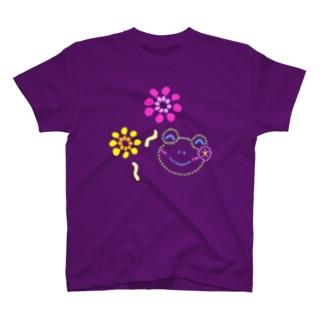 花火とかえるさん T-shirts