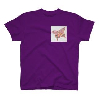 フラフラバタフライ T-shirts