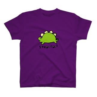 ゴーゴーステゴサウルス T-shirts