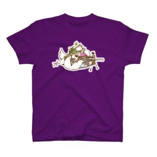 絶対に仕留めるブンチョ隊員 T-shirts