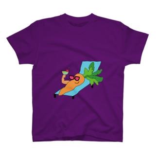 ニンジンの夏 T-shirts