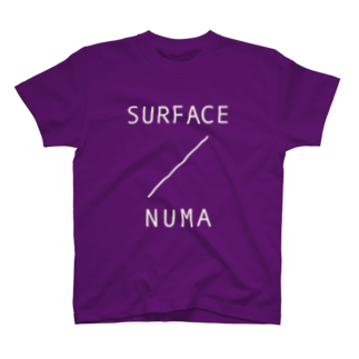 2753GRAPHICSのSURFACE TEE(NUMA WHITE) T-shirts