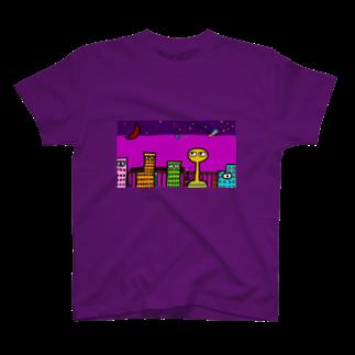 Kiligoya CompanyのTo  Insolitus Street(インソリトゥス街にて) T-shirts
