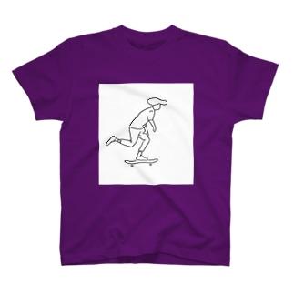 すけーとぼーい T-shirts