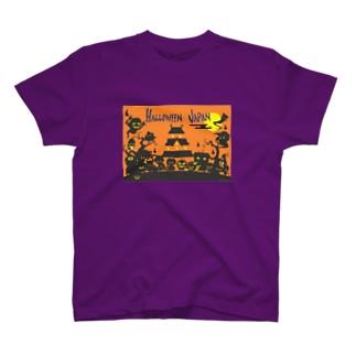 HALLOWEEN JAPAN T-shirts