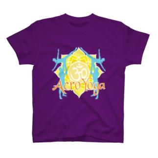 AcroYoga ColorfulOm T-shirts