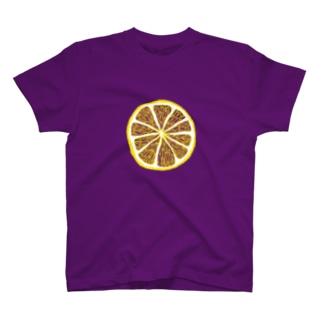 「レモンの輪切り」 T-shirts