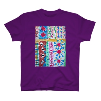 105colorful T-shirts