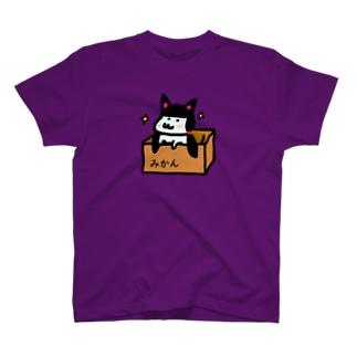 ふたつくくにゃんのふく2(片面) T-shirts