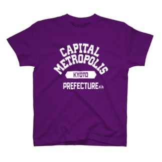 京都府 CAPITAL METROPOLIS T-shirts