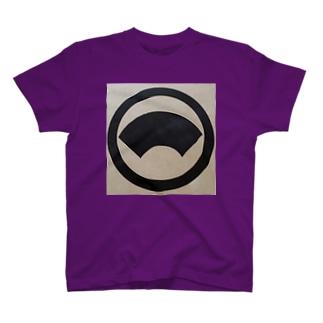 丸に地紙 T-shirts