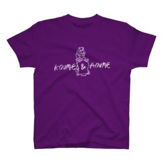 OGYショップのKOUME&AOUME_WhiteLine T-shirts
