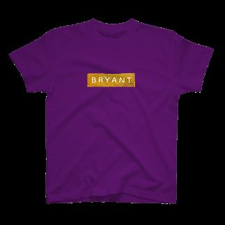 グリ屋のBRYANT GOLD BOX LOGO T T-shirts
