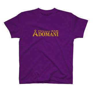 ADOMANIロゴ ONE T-shirts