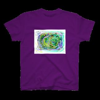 hujiyamakenjiの妖怪の国へようこそ T-shirts