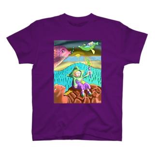 夜明けのともし火 T-shirts