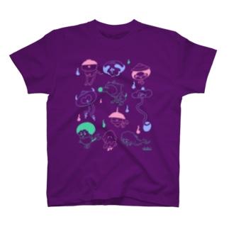 かわいい妖怪さんたち Tシャツ