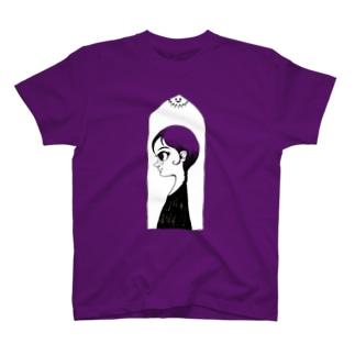 ヤノベケンジ《サン・チャイルド》(窓と横顔) Tシャツ