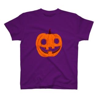 ハロウィンデザイン「カボチャ」 T-shirts