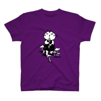 なまらやのきのこと笛猫 T-shirts