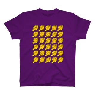 カレイの行列 T-shirts