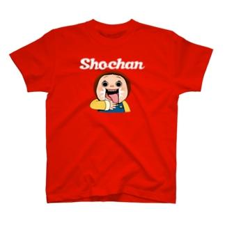 しょーちゃんじゅるり 白文字 Tシャツ