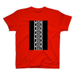 zipper(大)black Tシャツ